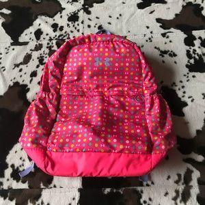 Girl's Under Amour Patterned Pink Backpack